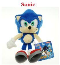"Sonic the Hedgehog Sega Classic Character 9"" Plush Stuffed Doll Toy X'mas Toys"