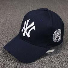 Stylish Cotton Baseball Adjustable Navy Blue Cap For Men/Women