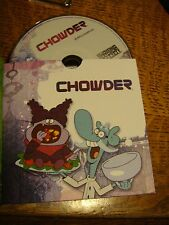 "Chowder EMMY DVD CARTOON NETWORK 1EPISODE ""Burple Nurples"" PLAYS USA"