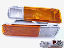 Mitsubishi Triton MK 96-06 Front Bar Indicator bumper Lights l200 pickup ute 02