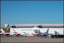 USAF F-16 Thunderbirds Hangar Flightline Nellis AFB 2019 8x12 Photos