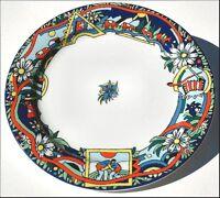 EDELWEISS BOPLA! Porzellan Essteller Fondue Plausch grosser Speiseteller 27cm