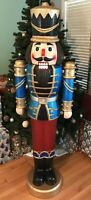 Nutcracker Lifesize LED with SOUND Indoor/Outdoor Christmas 68 Inches Tall