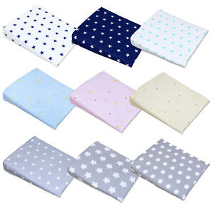 PILLOW COVER FOR WEDGE PILLOW BABY CRIB CRADLE PILLOWCASE  30x37cm Cover Only