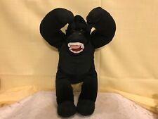 """13"""" King Plush King Kong Ape Gorilla Toy Animal Character Black"""
