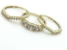 Gioielli di lusso in oro giallo fidanzamento 14 carati