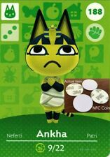 Ankha NFC Tag/Coin Amiibo Card Animal Crossing New Horizons! Free Shipping!