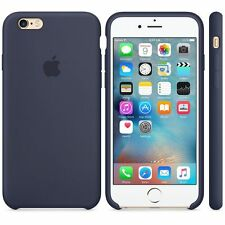Genuine Silicone Case for Apple iPhone 6s / 6 in Midnight Blue