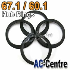 67.1mm 60.1mm WHEEL HUB CENTRE SPACER HUB CENTRIC RING POLYCARBONATE?
