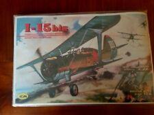 ICM Polikarpov I 15bis 1/72 Sealed Spanish Soviet Finland China Decal