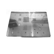 LATEST NEW FOR IPHONE 6S BGA REWORK REBALLING STENCIL TEMPLATE FOR IC REPAIR