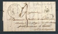 1841 Lettre CAD T13 VARADES +1d + OR LOIRE-INFERIEURE(42) TB. F345