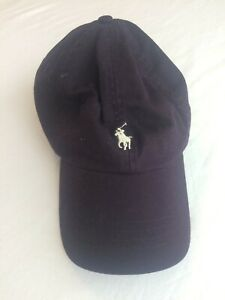 Purple Cotton Baseball Cap From POLO RALPH LAUREN - One Size