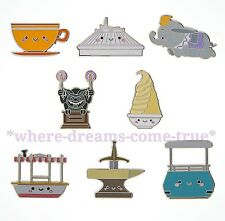 kingdom of Cute Mistery Collection pins Complete Set of 8 by Jerrod Maruyama