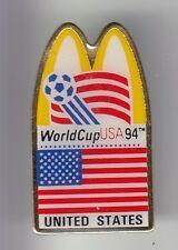 RARE PINS PIN'S .. MC DONALD'S RESTAURANT FOOTBALL SOCCER WORLD CUP USA 1994 ~17