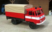 Busch MCZ 03-268 IFA Robur LO 2002 A Berliner Feuerwehr Sondermodell 1 87