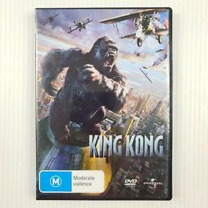King Kong Movie DVD - Naomi Watts, Jack Black - Region 4 - TRACKED POST