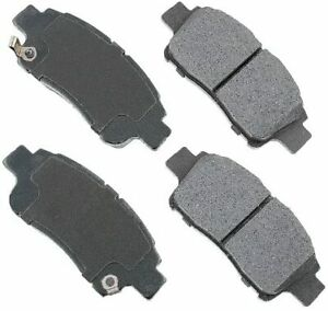 Morse Disc Brake Pad Set NX831 For TOYOTA ECHO, YARIS 2000-2004