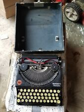 1923 Remington typewriter antique vintage collection, black in color