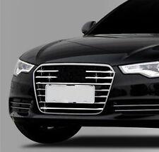 Zubehör für Audi A6 C7 ab 2011 Facelift Chrom Grill Leisten Blenden 6 Teile