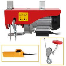 Double Line Electric Hoist - 440-lb. Single Line/220-lb. Auto Shop Garage W/Remo