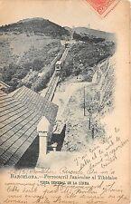 More details for br33371 barcelona ferrocarril funicular al tibidabo vista general spain