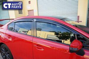Tape-on Weather Shield / Window Visor for 2015-2020 Subaru WRX STI SEDAN