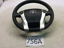 10-15 TOYOTA PRIUS STEERING WHEEL W/ CRUISE CONTROL SWITCH OEM 756A