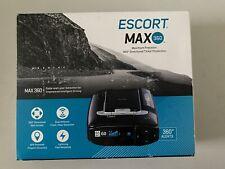 New listing Escort Max 360 Laser Radar Detector Speed Camera Police Gps Voice Alerts Oled