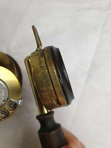 Vintage 1920 Candle Stick Unique Telephone Works Great Gold Colour