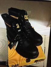 CAT CATERPILLAR Second SHIFT ST BLACK BOOTS SIZE 10
