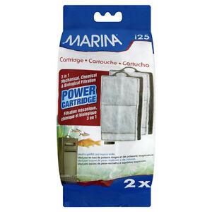 Marina i25 2x Power Cartridge For Internal Filter Aquarium Cleaning Fish Tank