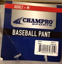 Men's Adult Baseball Pant Gray Champro