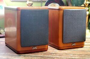 JVC SP-UX7000 - Cherry Wood - Mini Bookshelf Speakers - 4ohm 20W Japan