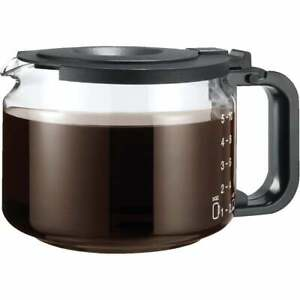 Medelco Eurostyle Universal Replacement 10 Cup Black Coffee Carafe GL210BK  - 1