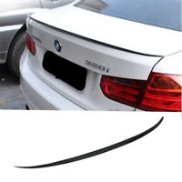BMW PAINTED GLOSS BLACK 3 SERIES F30 ABS 12-18 REAR BOOT LIP SPOILER M3 STYLE
