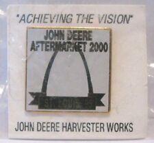 * John Deere 1995 St Louis Aftermarket 2000 Harvester Works Expo Hat Lapel Pin