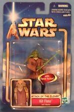 Star Wars AOTC Kit Fisto Jedi Master w/ lightsaber '02 #05 MOC new by Hasbro