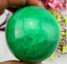 NEW 63mm Glow In The Dark Stone crystal Fluorite sphere ball