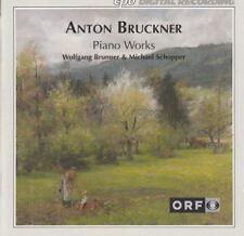 Piano Works. Anton Bruckner : Wolfgang Brunner Michael Schopper