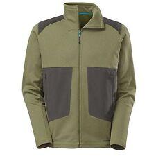 North Face Mens Blaze Full Zip Jacket Scallion Green SZ LG Poly Flash Dry Knit