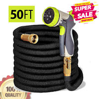 Hospaip 50ft Garden Hose - All New Expandable Water Hose with Double Latex Core