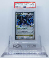 Pokemon PLATINUM DIALGA G LV X 122/127 HOLO FOIL CARD PSA 10 GEM MINT #*