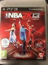 SONY PLAYSTATION 3 PS3 NBA 2K13 PAL  COMPLETO
