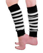 CHILDREN GIRLS PLAIN RIBBED LEG WARMERS LEGWARMER TUTU FANCY DRESS PARTY COSTUME