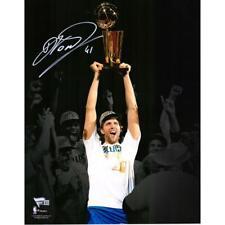 "DIRK NOWITZKI Autographed Mavericks 11"" x 14"" NBA Finals Photograph FANATICS"