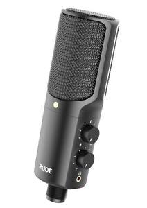 Rode NT-USB - Versatile Studio-Quality Cardiod Condenser USB Microphone