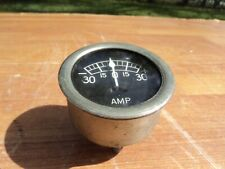 VINTAGE  1930s 1940s TWO INCH SPADE TULIP NEEDLE AMP GAUGE HOT ROD
