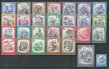 Österreich 1973-1978 Freimarkenserie Schönes Österreich ** mit allen ErgWerten