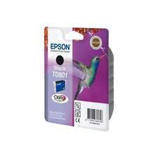 Cartuccia Epson T0801 nero colibrì Originale